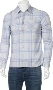 Niebieska koszula Teddy Smith z długim rękawem