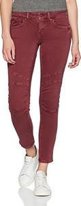 Bordowe jeansy mavi