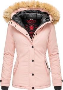 Różowa kurtka Navahoo w stylu casual