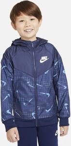 Granatowa kurtka dziecięca Nike