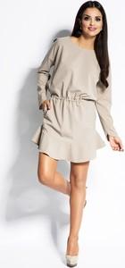 Sukienka Dursi z długim rękawem mini