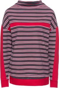 Bluza bonprix rainbow z dresówki w street stylu