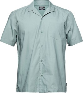 Koszula Esprit z klasycznym kołnierzykiem z krótkim rękawem