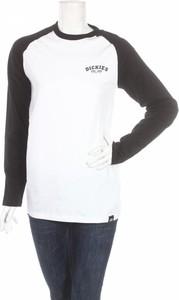 Bluzka Dickies z okrągłym dekoltem z długim rękawem w stylu casual