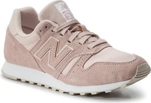 Buty sportowe New Balance w sportowym stylu z płaską podeszwą ze skóry ekologicznej