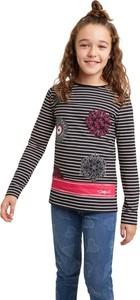 Koszulka dziecięca Desigual z długim rękawem