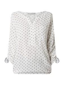 Bluzka Betty & Co Grey z dekoltem w kształcie litery v