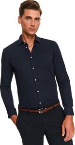 Granatowa koszula Top Secret