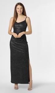 Czarna sukienka Marie Lund maxi na ramiączkach
