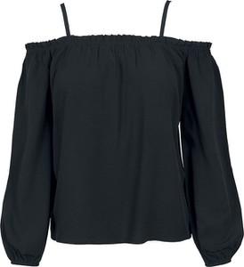 Czarna bluzka Urban Classics z długim rękawem