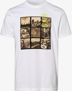 T-shirt The North Face z krótkim rękawem z dżerseju z nadrukiem