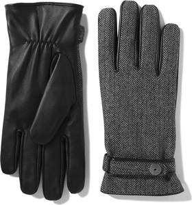 Czarne rękawiczki Big Star
