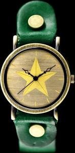 inny ZEGAREK DAMSKI TAYMA - RETRO PUNK 27 -zielony (zx583c) - Zielony