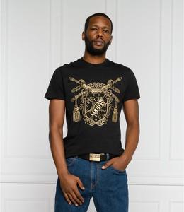 Czarny t-shirt Versace Jeans