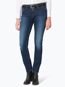 Niebieskie jeansy Tommy Hilfiger z jeansu w młodzieżowym stylu