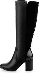 5a78169b573b6 Czarne kozaki przed kolano, kolekcja zima 2019