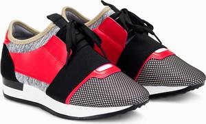 Larica czerwone buty sportowe lr091
