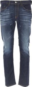 Niebieskie jeansy Diesel z bawełny