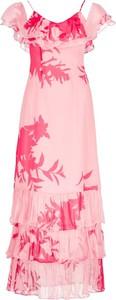 Sukienka Guess maxi w stylu casual