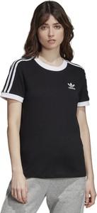Czarna bluzka Adidas z dzianiny
