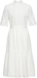 00cdf0b64d Koralowa Sukienka z Koronką 2747-87-D • Sukienki • Sukienki koronkowe.  Sukienka bonprix BODYFLIRT