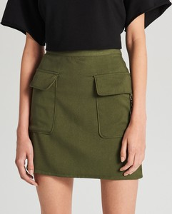 Zielona spódnica Cropp mini