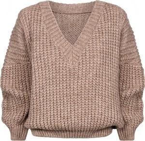 Sweter Swing Polish Fashion Concept z wełny w stylu casual