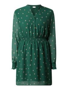Zielona sukienka Vila z dekoltem w kształcie litery v mini