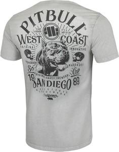 T-shirt Pit Bull z bawełny w młodzieżowym stylu