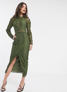 Sukienka Asos Design ołówkowa maxi