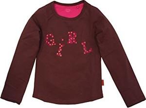 Czerwona koszulka dziecięca Oilily z długim rękawem