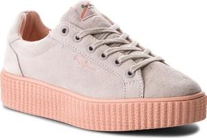 Sneakersy pepe jeans - frida seasons pls30685 whitewash 811