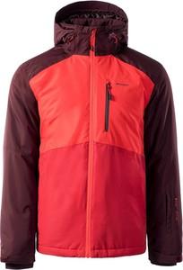 Czerwona kurtka Elbrus z tkaniny