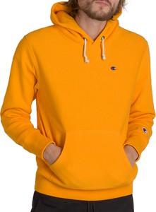 Pomarańczowa bluza Champion z bawełny w sportowym stylu