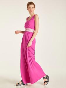 Różowa sukienka Heine maxi oversize