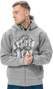 Bluza Outsidewear w młodzieżowym stylu z nadrukiem