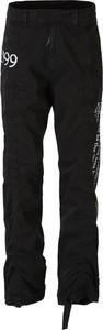 Czarne spodnie Off White z bawełny