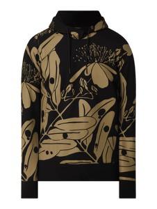 Bluza Hugo Boss w młodzieżowym stylu z nadrukiem z bawełny