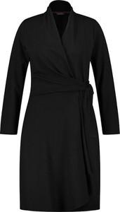 Czarna sukienka Samoon w stylu casual mini