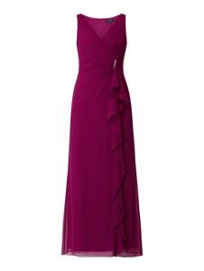 Sukienka Ralph Lauren maxi bez rękawów z szyfonu