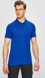 Niebieska koszulka polo Calvin Klein