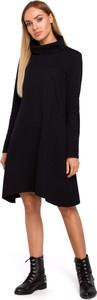 Sukienka MOE z dzianiny midi z długim rękawem