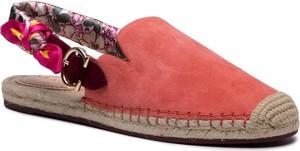 Czerwone sandały Coach