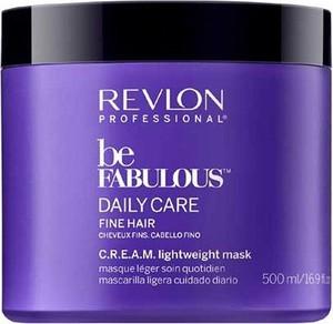 Revlon Be Fabulous Fine Hair C.R.E.A.M. Mask | Maska do codziennej pielęgnacji włosów cienkich 500ml - Wysyłka w 24H!