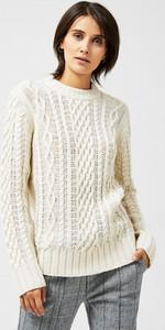 Sweter Moodo z wełny w stylu casual