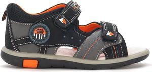 Buty dziecięce letnie American Club na rzepy dla chłopców