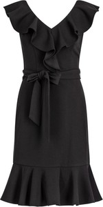 Sukienka DKNY mini z dekoltem w kształcie litery v