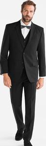 Czarny garnitur CANDA