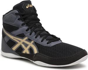 Czarne buty sportowe dziecięce ASICS