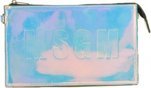 Niebieska torebka MSGM na ramię
